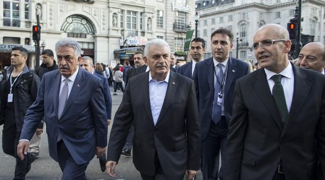 Başbakan Yıldırım, Londra ziyaretini şehir turuyla tamamladı