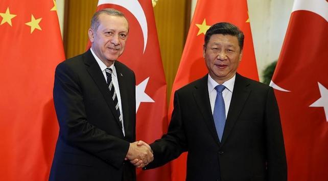Cumhurbaşkanı Erdoğan, Çin Devlet Başkanı Cinping ile görüştü