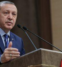 Cumhurbaşkanı Erdoğan'dan 'taziye' mesajı