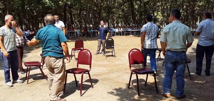 11. Geleneksel Sandalye Kapma Yarışı