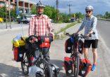 Hollanda'dan bisikletleriyle dünya turuna çıkan çift Bartın'a ulaştı