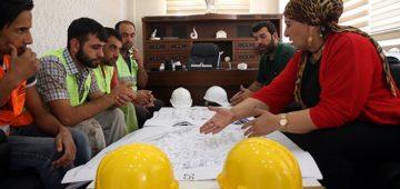 Diyarbakır'da inşaat sektörünün 'Hanımağa'sı
