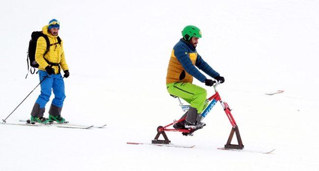 Kayakçıların yeni gözdesi 'zantır'