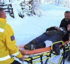 Paletli ambulans hastaların imdadına yetişti