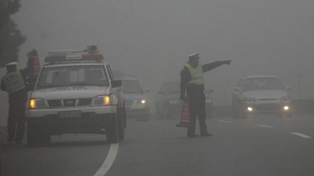 Çin'de sis kaza getirdi: 9 ölü, 43 yaralı