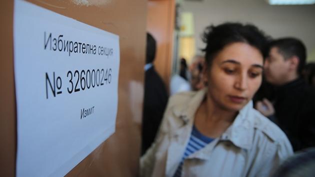 Türkiye'de yaşayan Bulgaristan vatandaşları sandık başında