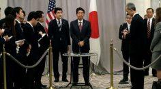 Japonya Başbakanı, Trump ile görüşen ilk yabancı lider oldu